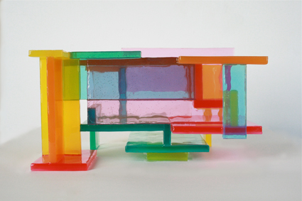 Victoria Palermo, cant and wont, 2001, platinum cured silicone rubber,   7 .5 h. x 13 .5 x 11 inches