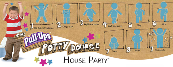 Do the Potty Dance House Party