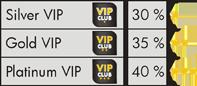 VIP club - tabulka
